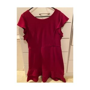 Dotti Size12 Red Dress